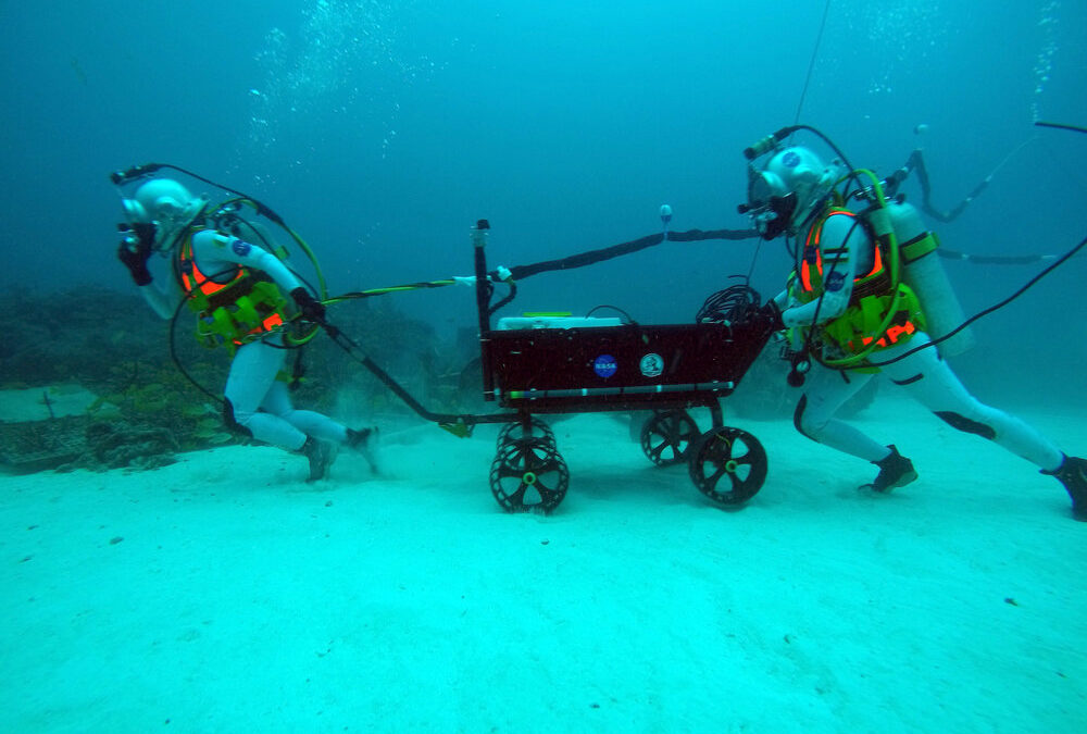 NASA NEEMO results on sleep, body composition, heart rate and more